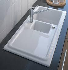 Builtin Ceramic Kitchen Sink By Duravit New Cassia - Ceramic kitchen sinks