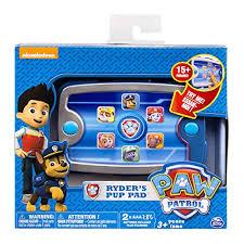 amazon paw patrol ryder u0027s pup pad toys u0026 games