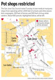 Blossom Music Center Map San Jose Medical Marijuana Dispensaries Face Tough New Rules U2013 The