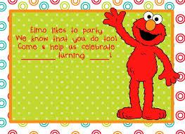 Funny Birthday Invitation Cards Birthday Invites Interesting Elmo Birthday Invitations Ideas Elmo