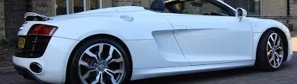 Audi R8 Limo - audi r8 audi v10 spyder hire self drive bradford leeds yorkshire