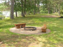 Stone Patio With Fire Pit Fire Pits Landscape Company In Western Twin Cities Metro Area