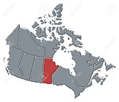 Canada Province Map by Political Map Of Canada With The Several Provinces Where Manitoba