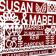 personalised quote gifts personalised wedding gift for same couple by ant design gifts