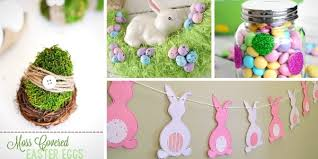 easter decorations 33 pretty diy easter decoration ideas so chic