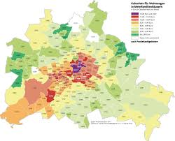Berlin Germany Map by Rental Prices In Berlin Germany 1477 1191 Mapporn