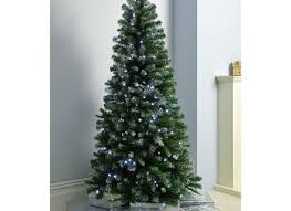 artificial christmas tree led lights with ge 7 5 ft pre lit led