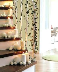 stair decorations via house beautiful stair railing garland