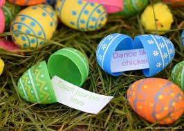kids easter eggs energy burning easter egg hunt eats amazing