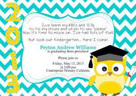 kindergarten graduation invitations preschool graduation invitation template free preschool graduation