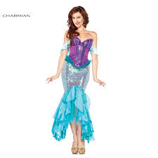 tangled halloween costume online get cheap ariel halloween costume aliexpress com alibaba