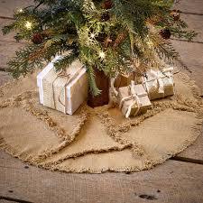 Christmas Tree Skirt Burlap Burlap Natural Mini Tree Skirt U2013 Appleseed Home Living