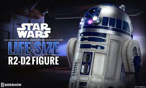 r2 d2 size figure sideshow collectibles