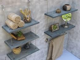 decorating ideas for bathroom shelves best 25 industrial shelves ideas on pipe shelves
