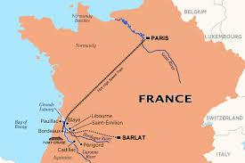 France On The World Map by 12 Day Paris U0026 Bordeaux Tour