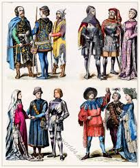 15th century costumes and fashion costume history
