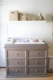 Dresser Into Changing Table Dresser Can Be Turned Into A Changing Table With A Shelf It