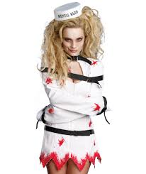 psycho halloween costume for women women u0027s psycho ward