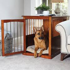 Diy End Table Dog Crate by End Tables Designs Simple And Comfortable Looked In Brown