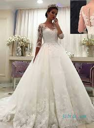 wedding dress with sleeves half sleeve bridal gowns vintage wedding dresses with 1 2 sleeves