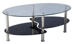 side table sets coffee in a glass bottle modern black tables argos