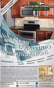 Home Renovation Magazines Newspaper Marketing Ad Eco Home Renovations