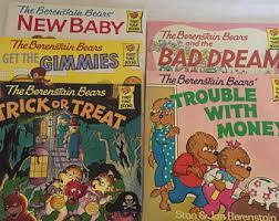Berenstein Bears Books Berenstain Bear Book Etsy
