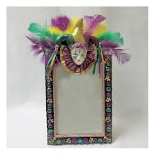 mardi gras picture frame gras jester frame