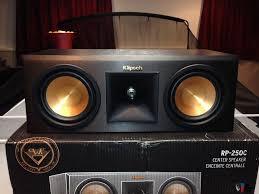 klipsch home theater systems klipsch rp250c center channel speaker photo 1052349 us audio mart