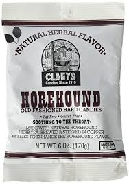 horehound candy where to buy claeys horehound candy 6 oz pack of 3
