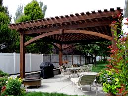 Timber Pergola Kits by Covered Pergola Kits Crafts Home