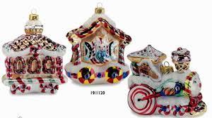 fitz u0026 floyd christmas retired glass ornaments