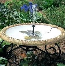 solar fountains with lights solar garden fountains pyknicwear com