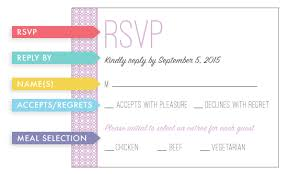 wedding invitation 101 the rsvp jordynn mackenzie