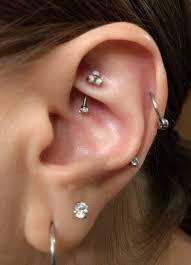 rook piercing barbell 16g vertical labret eyebrow piercings rings curv