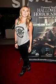 halloween horror nights chance actress alexa vega at halloween horror nights in universal city celebzz