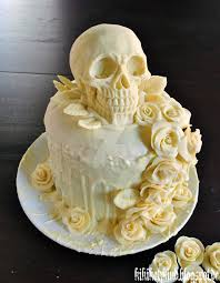 skull wedding cakes our skull wedding cake by dwellicious on deviantart