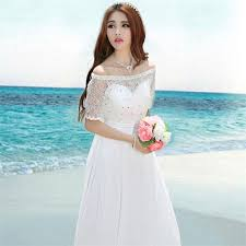 wedding dress korean maldives dress korean new diamond wedding dress beaded dress