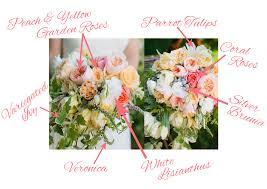 bouquet breakdown english garden bridal bouquet fiftyflowers