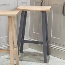 hudson bar stools hudson oak breakfast bar stool dove grey maine furniture co