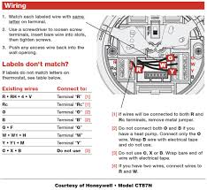 thermostat wiring diagram 4 wire 4 wire thermostat wiring color