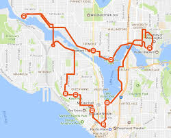 Map Of Seattle Neighborhoods by Northwest Seattle Tour U2014 Emerald City Trolley