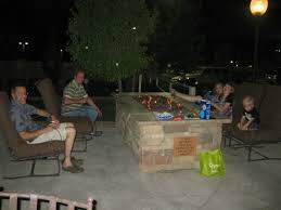 smores on the firepit out back picture of springhill