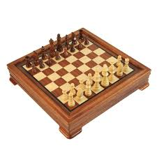 5 in 1 rosewood u0026 maple chess game set checkers chess