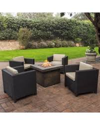 Grey Wicker Patio Furniture by Fall Into This Deal 15 Off Puerta Outdoor 4 Piece Wicker Chair