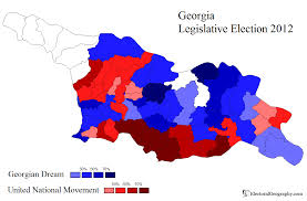 Election Map 2012 by Georgia Legislative Election 2012 Electoral Geography 2 0