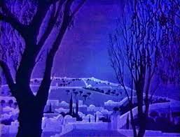 eyvind earle christmas cards michael sporn animation splog return to an eyvind earle christmas