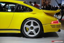 ruf porsche geneva 2017 ruf ctr the modern yellowbird gtspirit