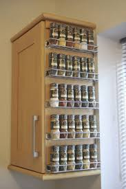 Kitchen Wall Ideas Best 25 Hanging Spice Rack Ideas On Pinterest Wall Spice Rack