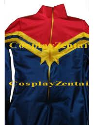 Captain Marvel Halloween Costume Marvel Lady Cosplay Halloween Costumes Spadnex Zentai Suit